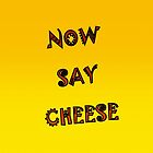 NOW SAY CHEESE by Jean Gregory  Evans
