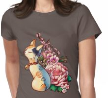 Bouquet Womens Fitted T-Shirt