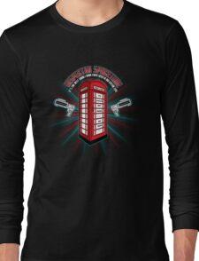Inspector Spacetime v.2 Long Sleeve T-Shirt
