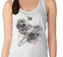Desert Cactus Blooms by William Preston Women's Tank Top
