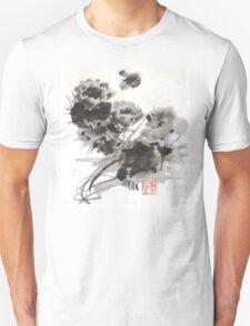 Desert Cactus Blooms by William Preston Unisex T-Shirt