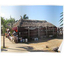 Beach Restaurant at Olas Altas - En la playa Poster