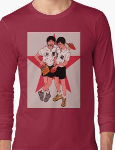 Ping Pong the animation Long Sleeve T-Shirt