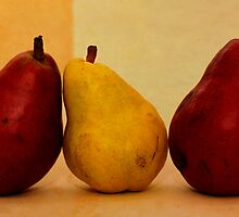 Three Pears by Jay Gross