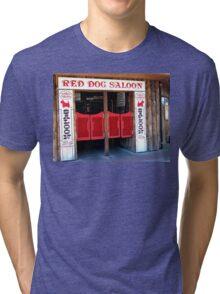 THE RED DOG SALOON JUNEAU ALASKA Tri-blend T-Shirt