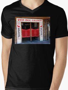 THE RED DOG SALOON JUNEAU ALASKA Mens V-Neck T-Shirt