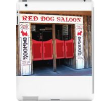 THE RED DOG SALOON JUNEAU ALASKA iPad Case/Skin