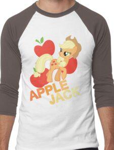 Applejack Men's Baseball ¾ T-Shirt