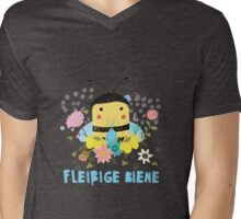 Fleißige Biene Mens V-Neck T-Shirt