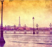 Paris In The Rain by Dith