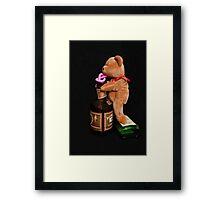 Boozy Bear Framed Print