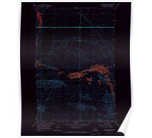 USGS Topo Map Washington State WA Winchester SE 244743 1966 24000 Inverted Poster