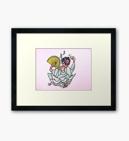 The Donna From Spain Framed Print