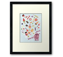 Sweets for Monsters Framed Print