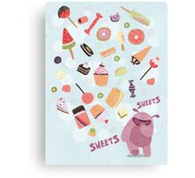 Sweets for Monsters Canvas Print