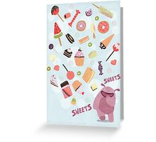 Sweets for Monsters Greeting Card