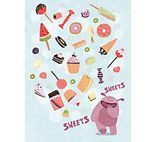 Sweets for Monsters Photographic Print