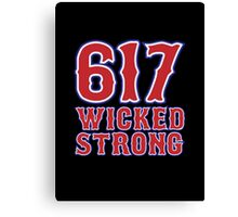 617 Wicked Strong Canvas Print