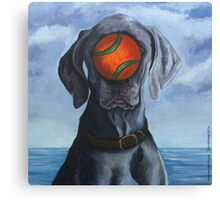 DOG OF MAN Canvas Print