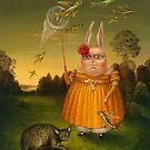 Bird-Catcher-3. Prints on Premium Canvas.    by Irena Aizen