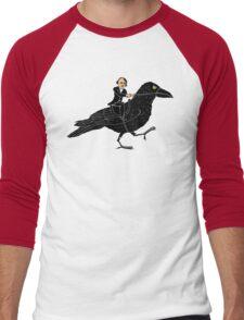 Poe and Raven Men's Baseball ¾ T-Shirt