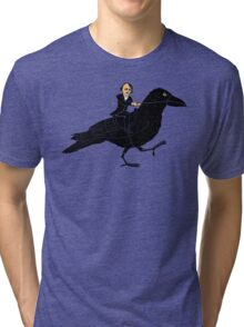 Poe and Raven Tri-blend T-Shirt