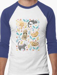 My Cats Men's Baseball ¾ T-Shirt