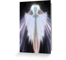 An Angel Gets Her Wings Greeting Card