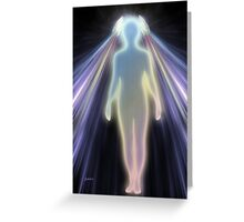 Healing Energy Greeting Card
