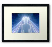 Healing Rays Framed Print