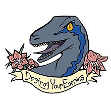 Inspirational Dinosaur by katherinehillis