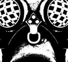Steampunk/Cyberpunk Gas Mask #1A Sticker