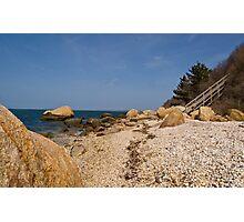 Horton Beach on LI Sound  Photographic Print