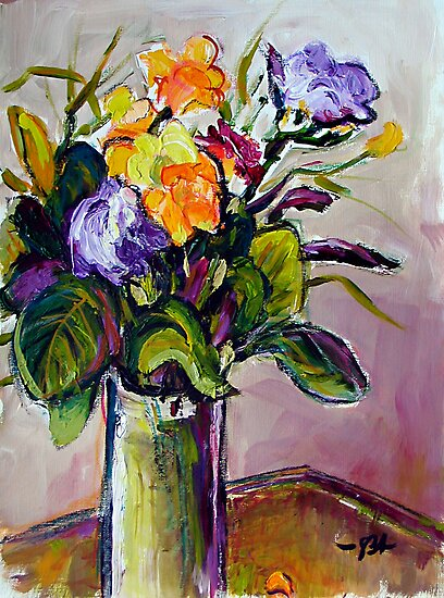 Freesia Still-Life by Stefan Boettcher