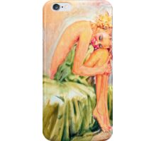 Woman In Blissful Ecstasy iPhone Case/Skin