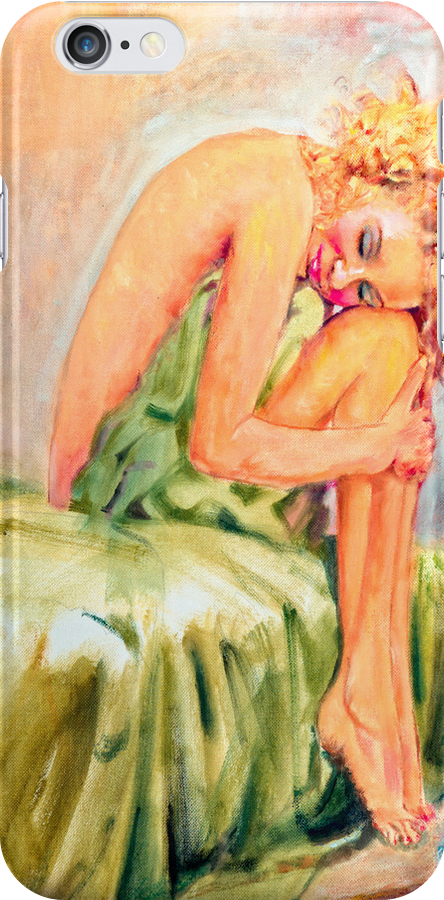Woman In Blissful Ecstasy by Sher Nasser