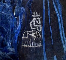 Cacique King-Hispanic Caribbean Taino Indian Caves Paintings by rchalas