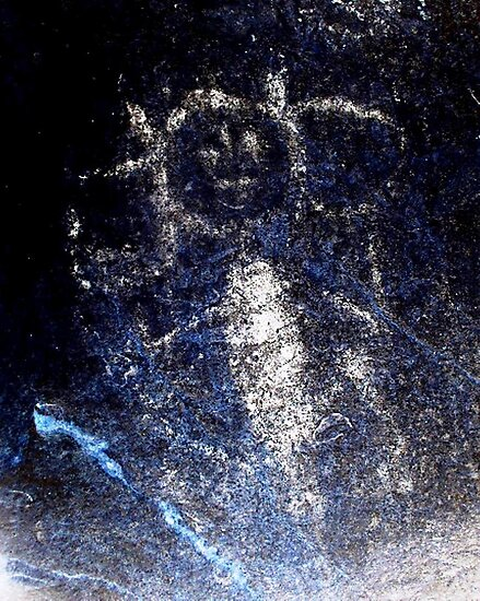 Taino Child-Hispanic Caribbean Taino Indian Caves Painting by rchalas