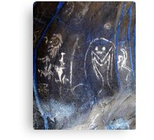 Spirits of the Cave-Hispanic Caribbean Taino Indian Caves Painting Canvas Print