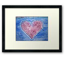 Heart of the Ocean Framed Print