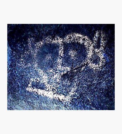 Conquistador-Caribbean Hispanic Taino Indian Caves Paintings Photographic Print