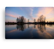 the calm... Canvas Print