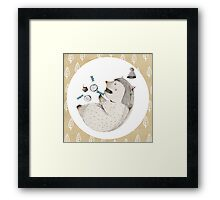 Sleeping Monster I Framed Print