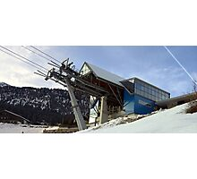 The Gondola station Photographic Print