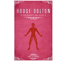 House Bolton Photographic Print