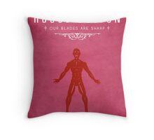 House Bolton Throw Pillow