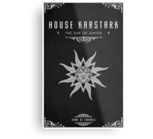 House Karstark Metal Print
