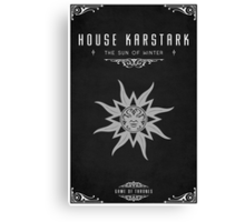 House Karstark Canvas Print
