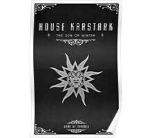 House Karstark Poster