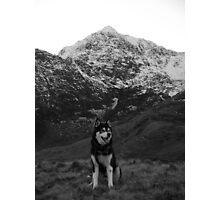 Snowdon Shadow Photographic Print